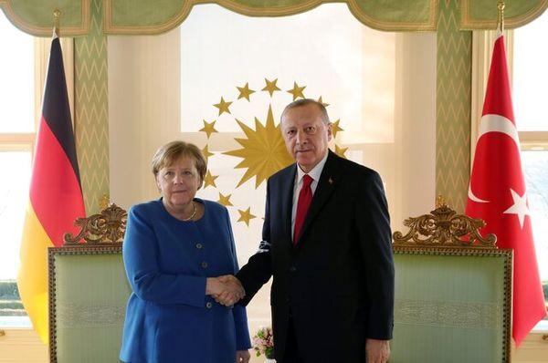 محور گفتگوی مرکل و اردوغان چه بود؟