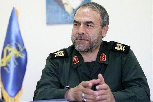 واکنش معاون سیاسی سپاه به موشک باران اسرائیل توسط نیروهای مقاومت