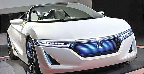 معرفی خودروی برقی توسط هوندا