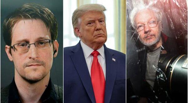 درخواست مهم ادوارد اسنودن از ترامپ