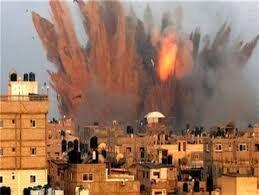 حملات هوایی ائتلاف سعودی به یمن