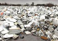 بحران انباشت زباله الکترونیکی  درکشور