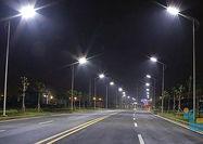 نورپردازی جدید در خیابانهای شهر