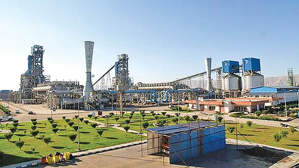 حفظ نرخ تولید «فولاد هرمزگان» بهرغم مشکلات