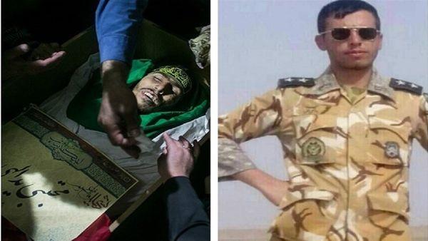 جوانترین شهید مدافع حرم ارتش ایران + عکس