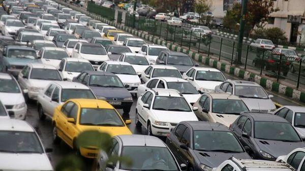 وضعیت ترافیکی معابر اصلی تهران