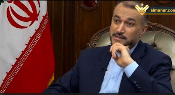 امیرعبدالهیان: آمریکایی ها به جای مقابله با سید حسن نصرالله باید به او مدال بدهند