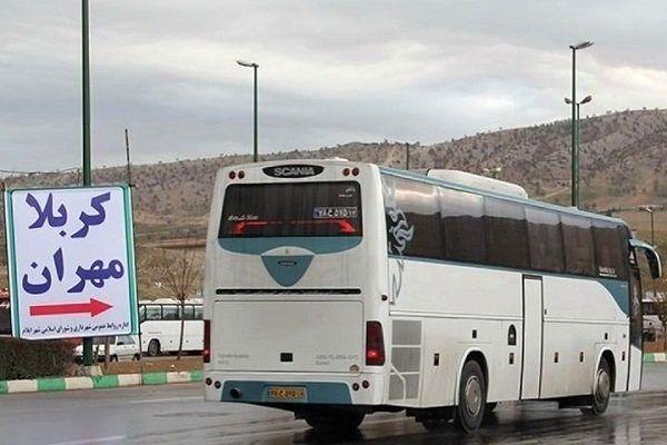 قیمت بلیت اتوبوسهای برگشت زائران اربعین از مرز مهران اعلام شد