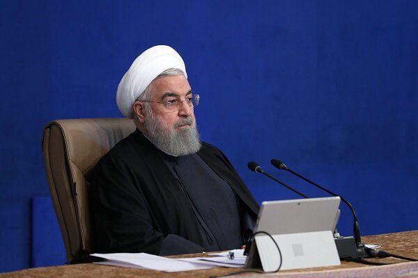 روحانی: امروز ریل راهآهن پیوند دو ملت ایران و افغانستان را مستحکمتر میکند