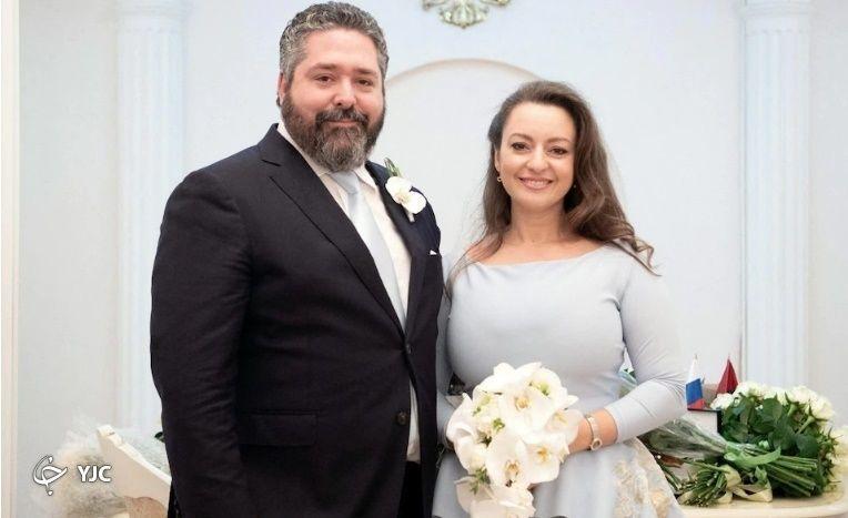 جورج میخائیلوویچ و همسرش ویکتوریا رومانووا بتارینی