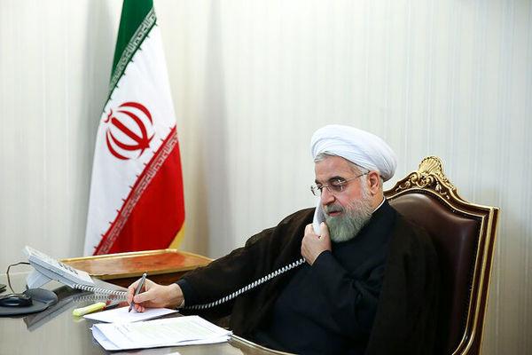 روحانی در گفتوگو با نخست وزیر عراق: امنیت عراق را امنیت خود میدانیم