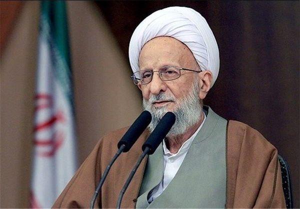 رئیس مجلس درگذشت آیت الله مصباح یزدی را تسلیت گفت