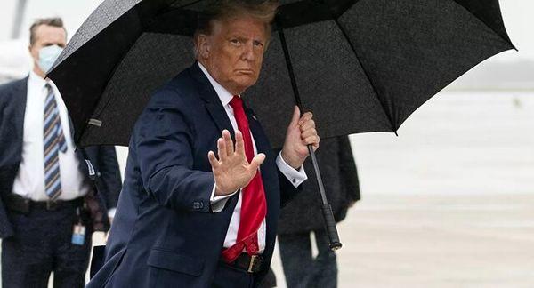 تست کرونای ترامپ منفی شد
