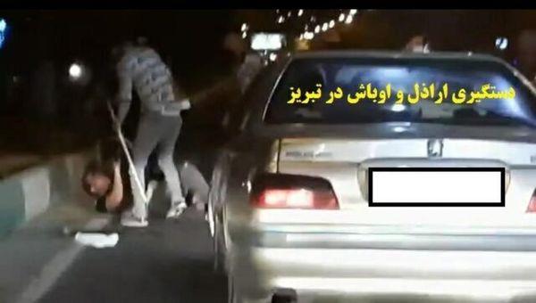 دستگیری اراذل و اوباش در تبریز