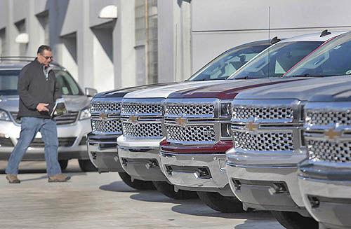 کاهش فروش خودرو در آمریکا