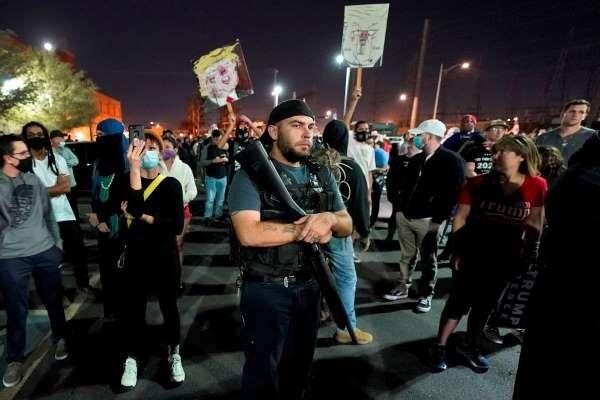 اعتراضات پسا انتخاباتی در آمریکا؛ آریزونا و میشیگان ناآرام شد