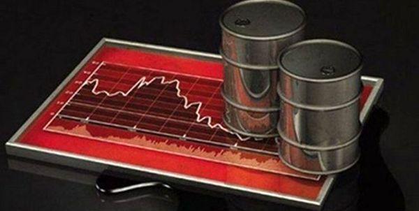 قیمت نفت باز هم پایین آمد