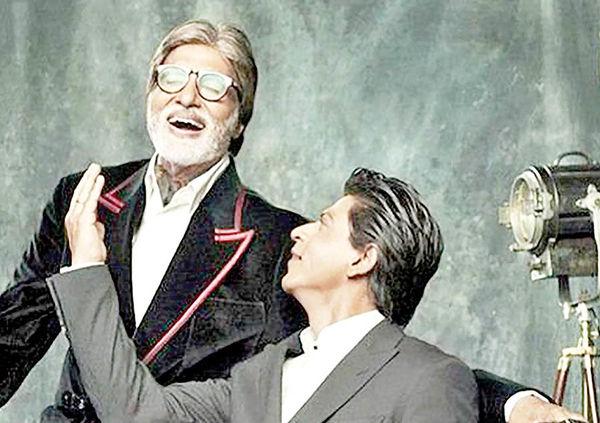 همکاری شاهرخ خان با آمیتاب باچان پس از ۱۰ سال
