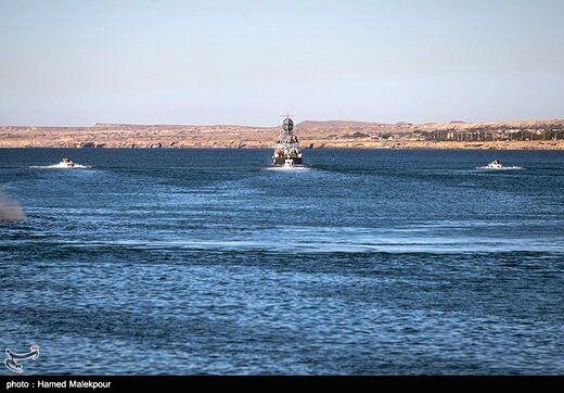 شهادت یک مرزبان در پی حمله قاچاقچیان دریایی در خلیج فارس