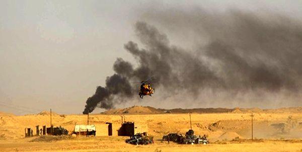 انهدام شش مخفیگاه داعش در استان الانبار