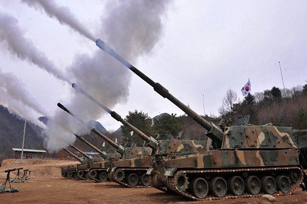 رزمایش نظامی مشترک کره جنوبی و آمریکا
