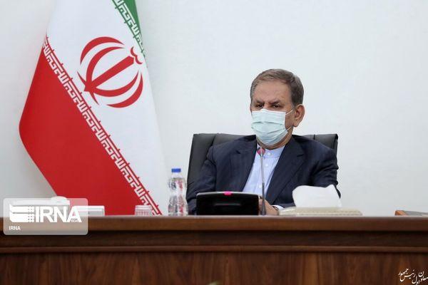 جهانگیری: اقدامات کوردلانه در عزم ملت ایران خللی وارد نمی کند