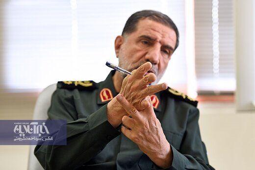 واکنش سردار معروف سپاه به انتشار فایل صوتی ظریف