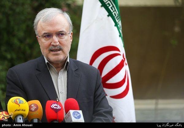 وزیر بهداشت: به هیچ شهروند ایرانی نخواهیم گفت که تخت خالی نداریم