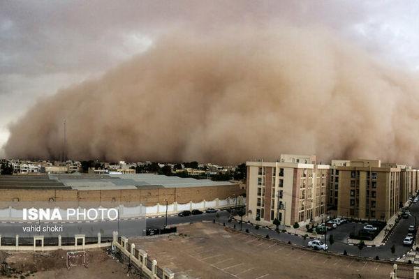 هشدار وقوع طوفان شن در سه استان کشور