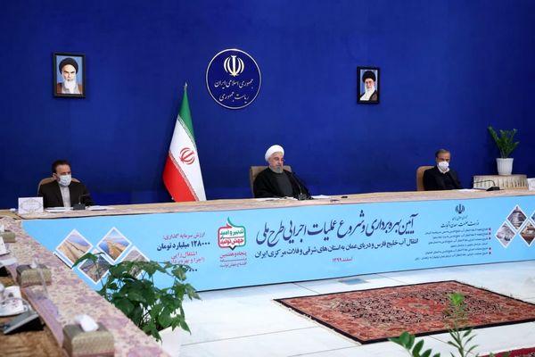 روحانی: در دولت یازدهم و دوازدهم در زمینه آب و خاک یک انقلاب رخ داده است