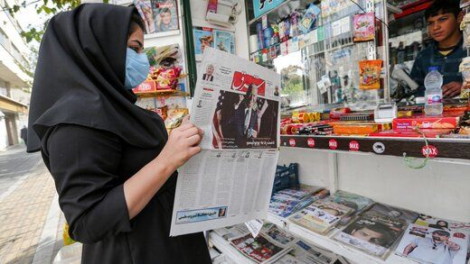 گزارش هفته نامه آمریکایی از واکنش مردم ایران به پیروزی بایدن