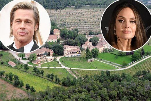دعوای برد پیت و آنجلینا جولی بر سر یک خانه