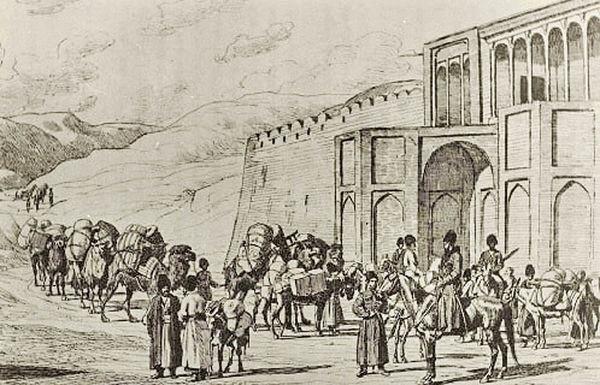 درآمد گمرک در دوره قاجار