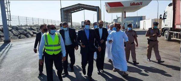 سفیر ایران از بندر السویق عمان بازدید کرد