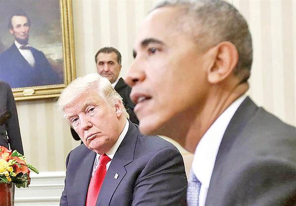 حمله شدید اوباما به ساکن کاخ سفید