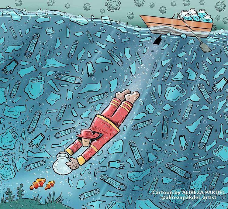 ببینید: تو روزهای کرونایی مراقب محیط زیست باشیم