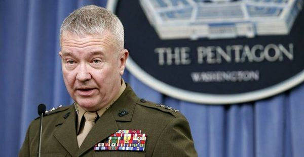 درخواست فرافکنانه فرمانده سنتکام از ایران