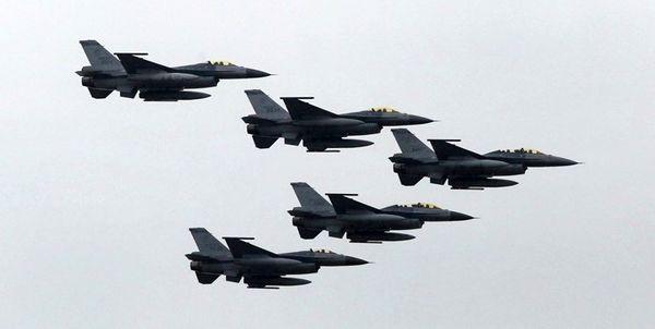 ادعای تایوان درباره ورود هشت جنگنده چینی به حریم هوایی این جزیره