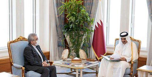 پیام مکتوب روحانی برای امیر قطر