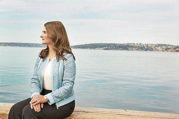 ملیندا گیتس، همسر بیل گیتس  و مدیر مایکروسافت