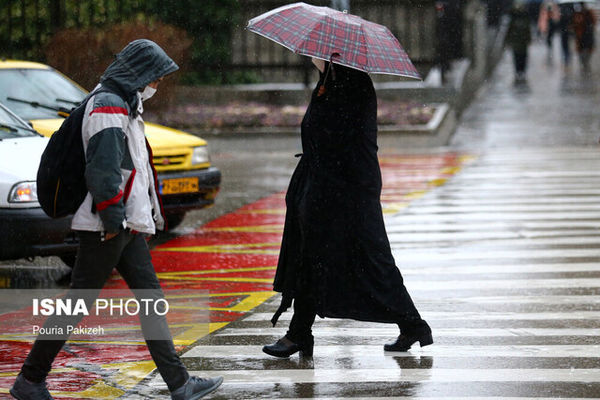 هشدار درباره بارش باران در ۱۹ استان کشور