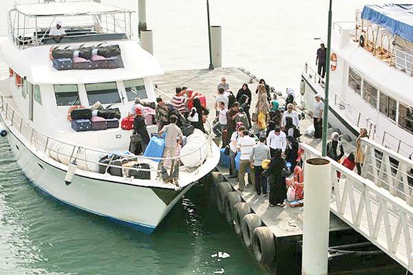 کاهش 50 درصدی ظرفیت شناورهای مسافری
