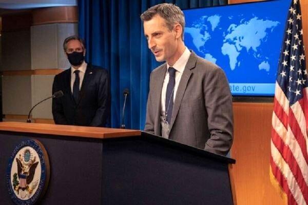 آمریکا: به اعمال فشار بر ایران از طریق تحریم ادامه می دهیم