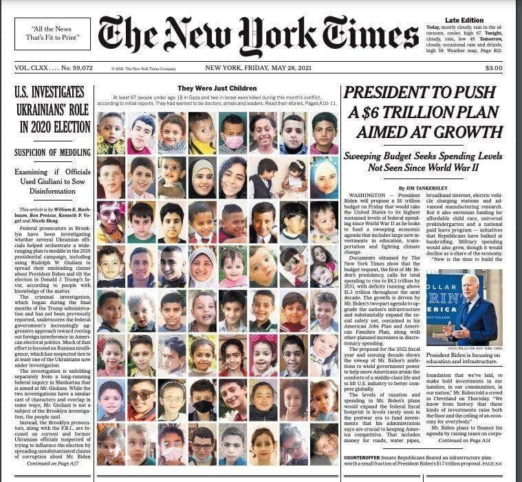 نیویورکتایمز:آنها فقط کودک بودند/عکس