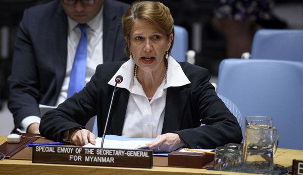 درخواست نماینده سازمان ملل نسبت به اقدام فوری در قبال تحولات میانمار