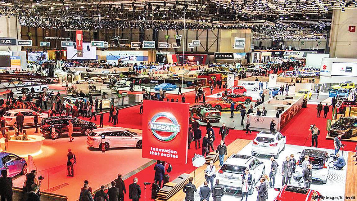 5 روند مهم در نمایشگاه خودروی ژنو