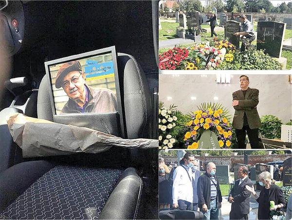 پیکر منوچهر طیاب  در وین به خاک سپرده شد