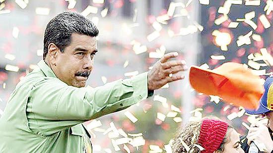 ونزوئلا در انتظار مداخله ارتش