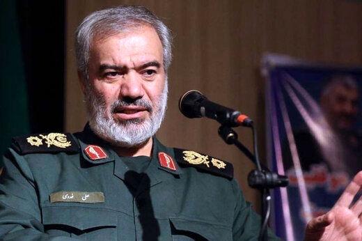 واکنش سردار فدوی به اظهارات رسانههای غربی درباره رزمایش اخیر در شمال کشور