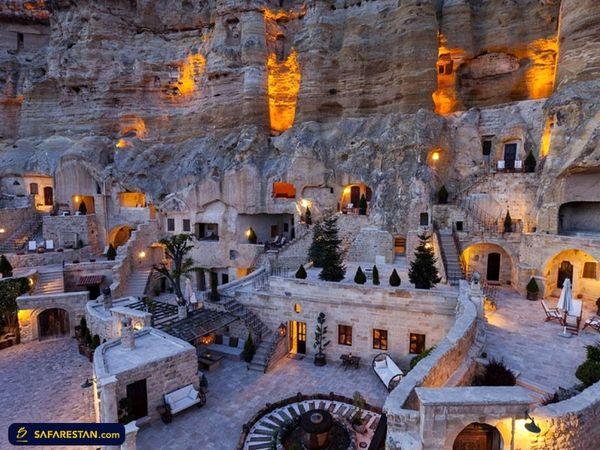 عجیب ترین خانه های جهان در کشور ترکیه